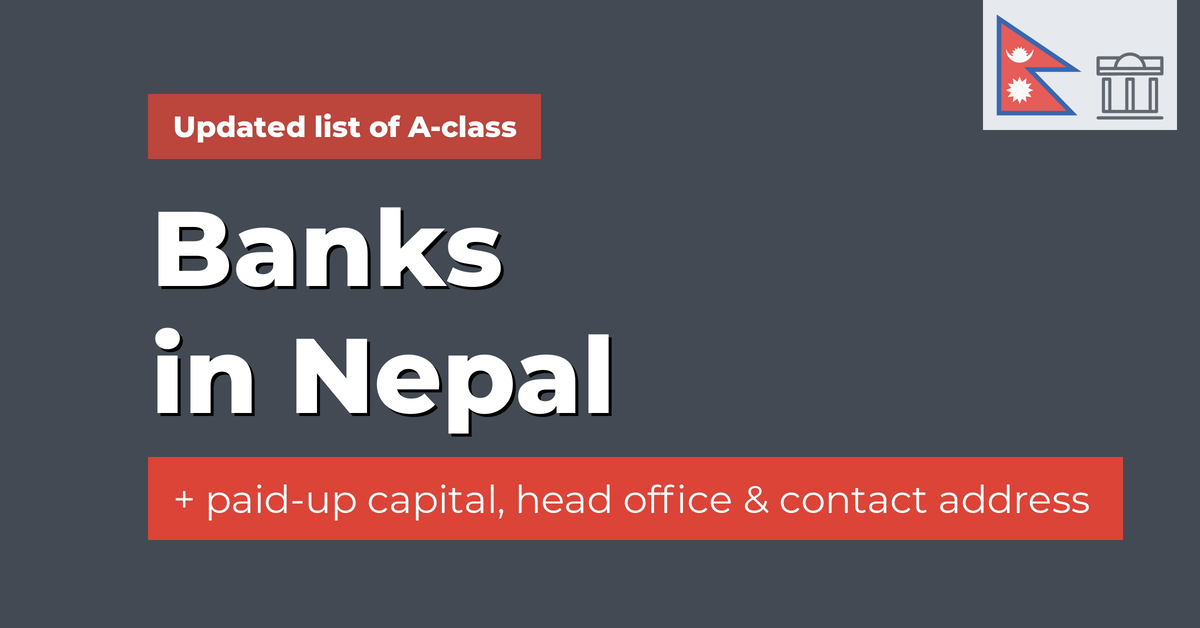 a class banks in nepal