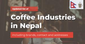 coffee companies brands in nepal