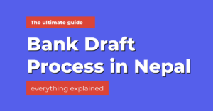how to make a bank draft in nepal