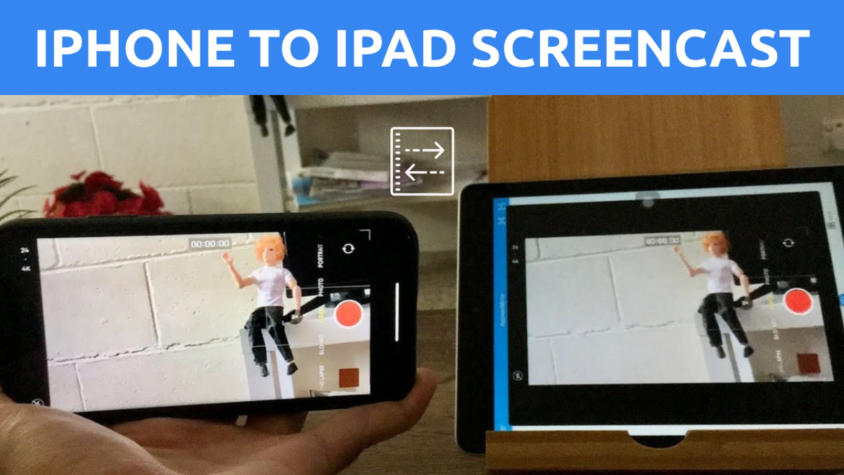 iphone to ipad screen being mirrored