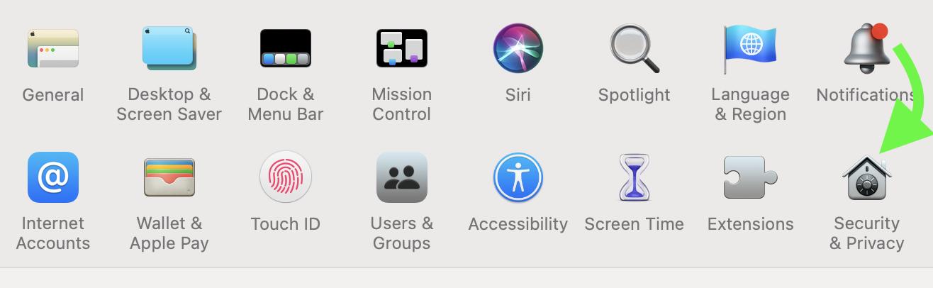 black screen obs mac