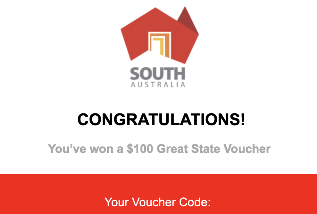 great state voucher south australia