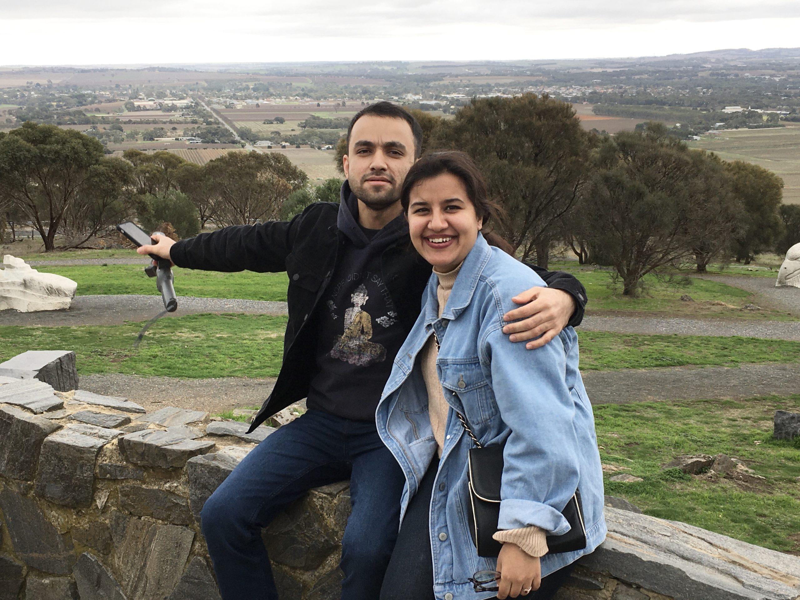 mengler lookout barossa valley south australia